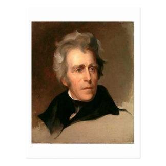 Carte Postale Andrew Jackson