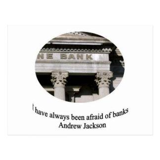 Carte Postale Andrew Jackson avec la citation