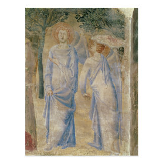 Carte Postale Anges de la chapelle de St Jean, 1347
