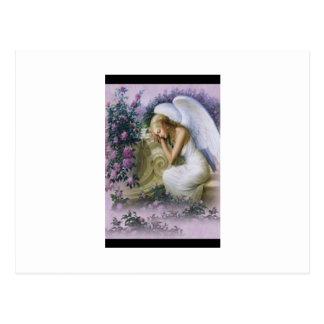 Carte Postale Anges, inspirés,