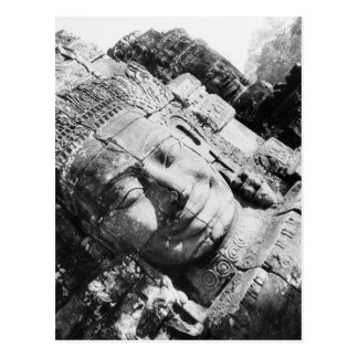 Carte Postale Angkor Cambodge, dirigent le Bayon