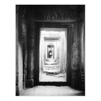 Carte Postale Angkor Cambodge, portes Preah Khan 2