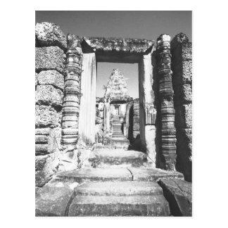 Carte Postale Angkor Cambodge, pré temple de Rup