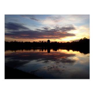 Carte Postale Angkor Vat au lever de soleil