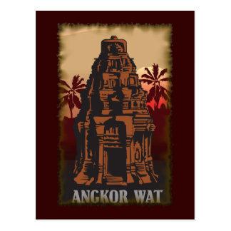 Carte Postale Angkor Vat vintage