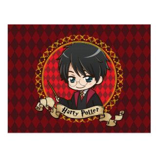 Carte Postale Anime Harry Potter