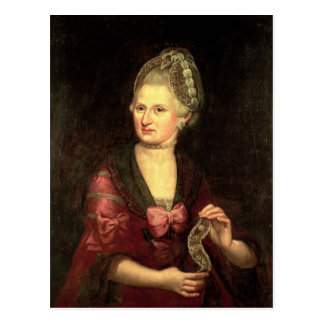 Carte Postale Anna Maria Mozart, Pertl nee