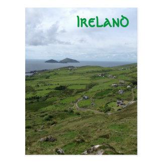 Carte Postale Anneau de position d'océan irlandaise de Kerry
