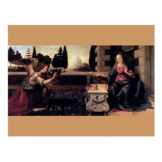 Carte Postale Annonce de Leonardo da Vinci