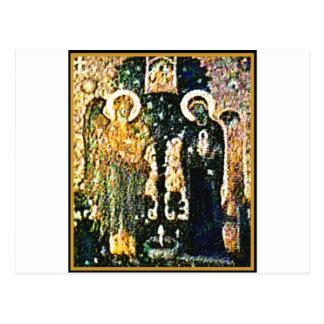 Carte Postale Annonce d'église de l'Angleterre Cantorbéry le