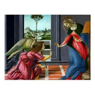 Carte Postale Annonce par Sandro Botticelli