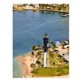 Carte Postale Antenne de phare de Hillsboro