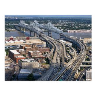 Carte Postale Antenne de pont du Mississippi