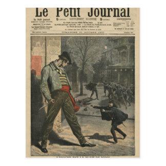 Carte Postale Apache est une gêne pour Paris