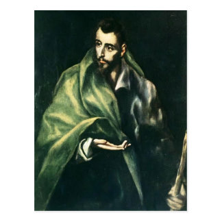 Carte Postale Apôtre St James d'EL Greco- le plus grand