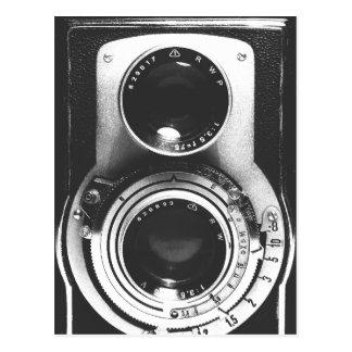 Carte Postale Appareil-photo vintage de b&w