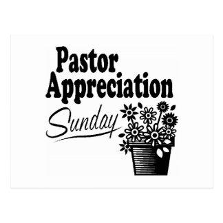 Carte Postale appréciation de pasteur