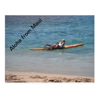 Carte Postale Apprécier les vues de Maui