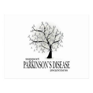 Carte Postale Arbre de :maladie de Parkinson