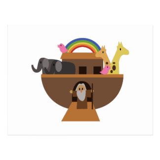 Carte Postale Arche de Noahs