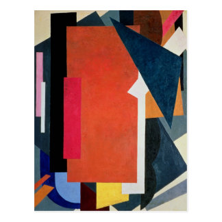 Carte Postale Architectonics Painterly, 1916-17