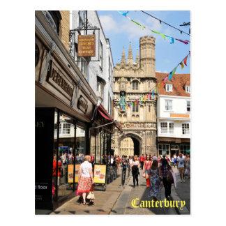 Carte Postale Architecture à Cantorbéry, Kent, Angleterre