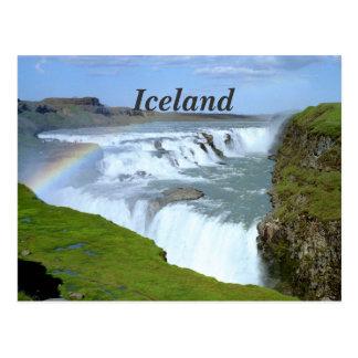 Carte Postale Arcs-en-ciel de l'Islande