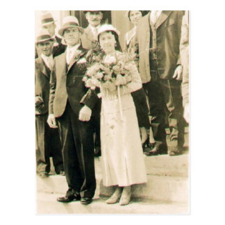 Carte Postale Armand et Lucienne