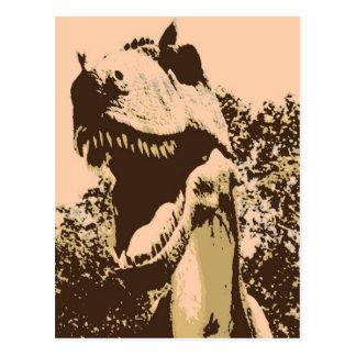 Carte Postale Art de bruit de Rex de Tyrannosaurus