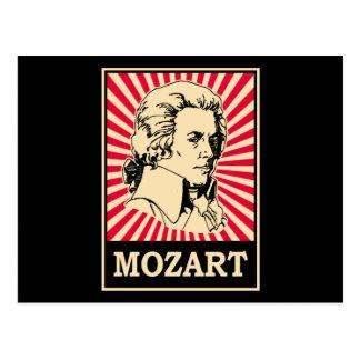 Carte Postale Art de bruit Mozart