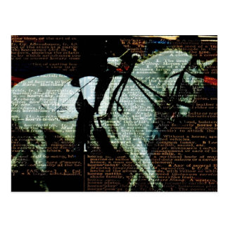 Carte Postale Art de dressage