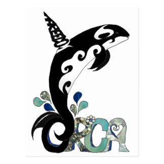 Carte Postale Art de liberté d'orque