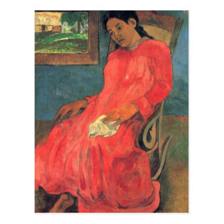 Carte Postale art de Paul Gauguin