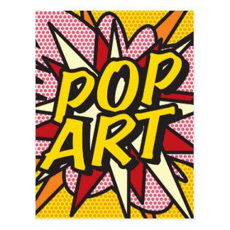 Carte Postale ART de POP de bande dessinée