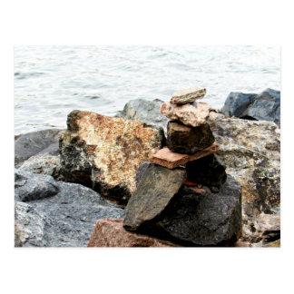 Carte Postale Art de roche