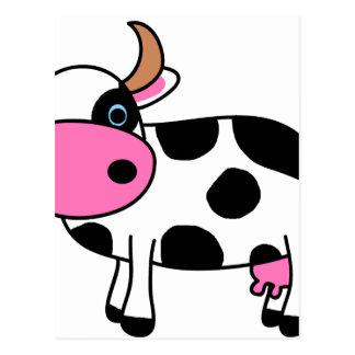 Carte Postale art de vache