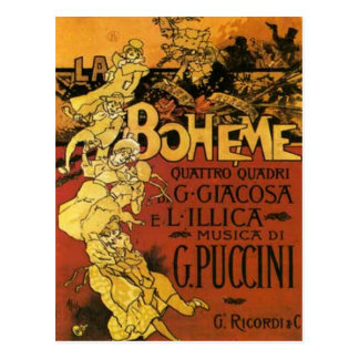 Carte Postale art d'opéra