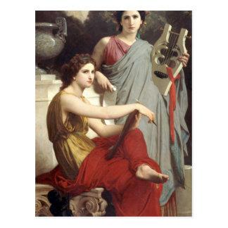 Carte Postale Art et littérature par William-Adolphe Bouguereau