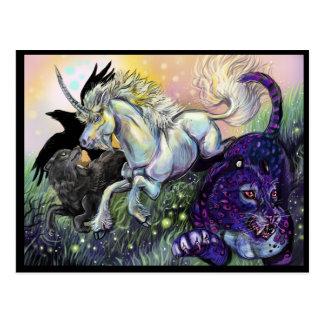 Carte Postale Art mystique magique rêveur de Gaurdians