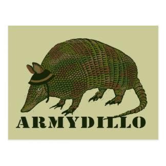 Carte Postale Article de tatou d'armée