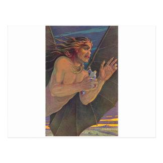 Carte Postale Ashmedai et Roi Solomon