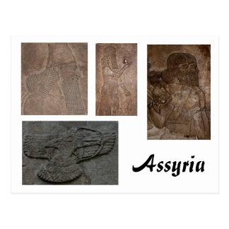 Carte postale assyrienne