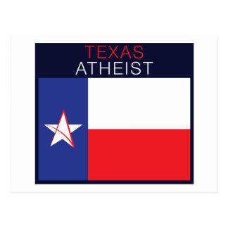 Carte Postale Athée du Texas