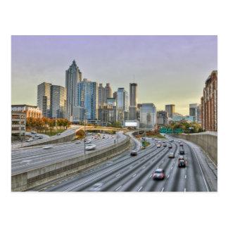 Carte Postale Atlanta du centre