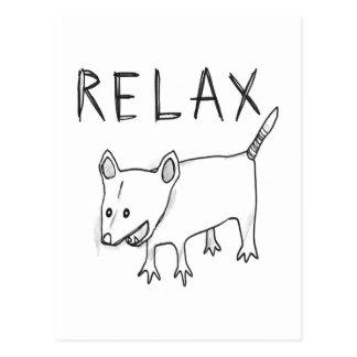 Carte Postale attaque de relaxation !