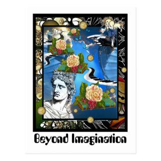 Carte Postale Au delà de l'imagination