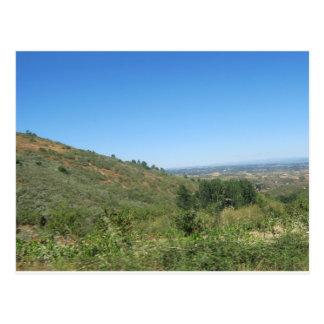 Carte Postale Au-dessus des collines