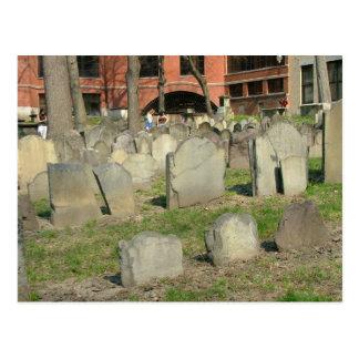 Carte Postale Au sol d'enterrement de grenier