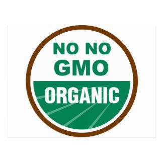 Carte Postale Aucun aucun GMO Orgainc