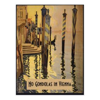 Carte Postale Aucun cru Venise de Vienne de gondoles